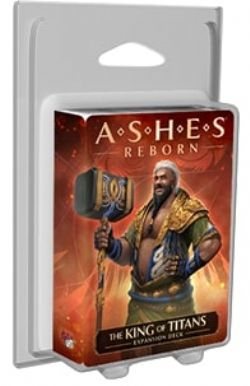 ASHES REBORN -  THE KING OF TITANS (ANGLAIS) -  EXPANSION DECK
