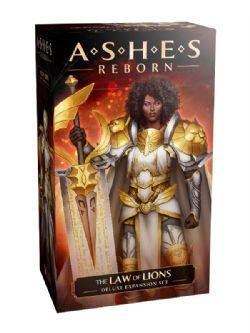 ASHES REBORN -  THE LAWS OF LIONS (ANGLAIS) -  DELUXE EXPANSION SET