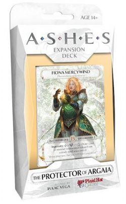 ASHES -  THE PROTECTOR OF ARGAIA (ANGLAIS)