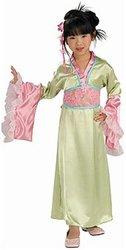 ASIATIQUES -  COSTUME DE PRINCESSE FLEUR DE PRUNIER (ENFANT)