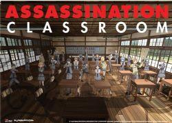 ASSASSINATION CLASSROOM -  -PROMO ART EDITION SPECIALE- (83.8 X 111.8 CM)