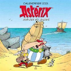 ASTÉRIX -  CALENDRIER 2021 (12 MOIS) - AVEC 130 STICKERS