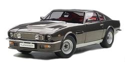 ASTON MARTIN -  V8 VANTAGE 1985 1/18 - GRIS
