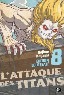 ATTAQUE DES TITANS, L' -  ÉDITION COLOSSALE 08