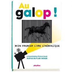 AU GALOP ! - MON PREMIER LIVRE CINÉMAGIQUE