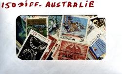 AUSTRALIE -  150 DIFFÉRENTS TIMBRES - AUSTRALIE