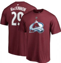 AVALANCHE DU COLORADO -  T-SHIRT NATHAN MACKINNON #29 ROUGE