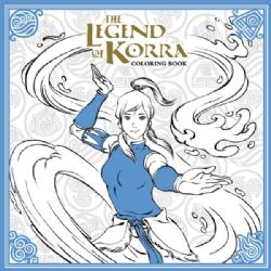 AVATAR : THE LAST AIRBENDER -  ADULT COLORING BOOK -  LEGEND OF KORRA, THE