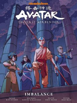 AVATAR - THE LAST AIRBENDER -  IMBALANCE LIBRARY EDITION HC
