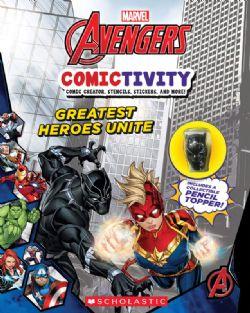 AVENGERS -  COMICTIVITY -  GREATEST HEROES UNITE