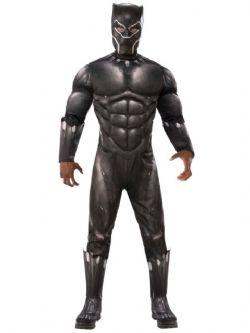 AVENGERS -  COSTUME DE BLACK PANTHER (ADULTE - TAILLE UNIQUE)