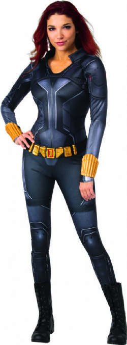 AVENGERS -  COSTUME DE BLACK WIDOW (ADULTE)