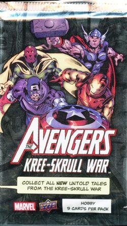AVENGERS -  KREE-SKRULL WAR - TRADING CARDS (P9/B24)