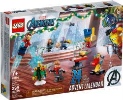 AVENGERS -  LEGO® MARVEL LE CALENDRIER DE L'AVENT DES AVENGERS (298 PIÈCES) 76196