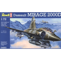 AVIONS DE CHASSE -  DASSAULT MIRAGE 2000D 1/72 (MOYEN)