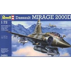 AVIONS DE CHASSE -  DASSAULT MIRAGE 2000D 1/72 (NIVEAU 3 - MOYEN)