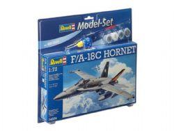 AVIONS DE CHASSE -  F/A-18C HORNET 1/72 (NIVEAU 3)