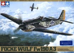 AVIONS DE CHASSE -  FOCKE WULF FW190 A3 1/48 (DIFFICILE)