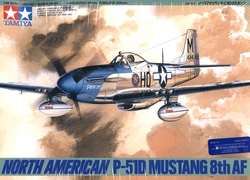 AVIONS DE CHASSE -  P-51D MUSTANG NORD-AMERICAIN 8E AP 1/48 (DIFFICILE)