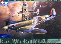 AVIONS DE CHASSE -  SUPERMARINE SPITFIRE MK.VB 1/48 (DIFFICILE)