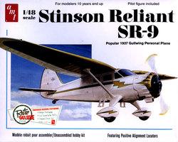 AVIONS LEGERS -  STINSON RELIANT SR-9 1/48 (MOYEN)