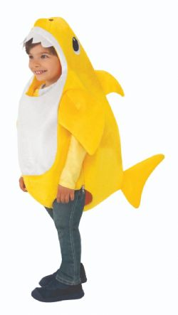 BABY SHARK -  COSTUME DE BÉBÉ REQUIN (JEUNE ENFANT)