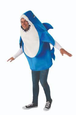 BABY SHARK -  COSTUME DE DADDY REQUIN (ADULTE)