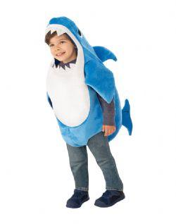 BABY SHARK -  COSTUME DE PAPA REQUIN (ENFANT)