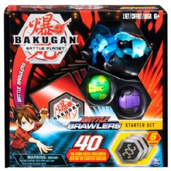 BAKUGAN -  BATTLE BRAWLERS - STARTER SET AQUOS GARGANOID (MULTILINGUE)
