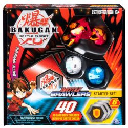 BAKUGAN -  BATTLE BRAWLERS - STARTER SET PYRUS HYDOROUS (MULTILINGUE)