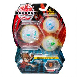 BAKUGAN -  DIAMOND GORTHION - ENSEMBLE DE DÉPART (MULTILINGUE) -  BATTLE BRAWLERS