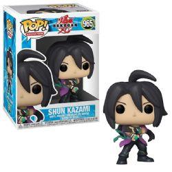 BAKUGAN -  FIGURINE POP! EN VINYLE DE SHUN KAZAMI (10 CM) 965