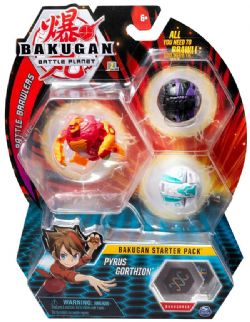 BAKUGAN -  PYRUS GORTHION - ENSEMBLE DE DÉPART (MULTILINGUE) -  BATTLE BRAWLERS