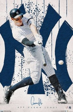 BASEBALL -  AARON JUDGE - AFFICHE (56 CM X 86.5 CM) -  YANKEES DE NEW YORK