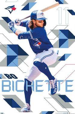 BASEBALL -  AFFICHE - BO BICHETTE (56 CM X 86.5 CM) -  BLUE JAYS DE TORONTO