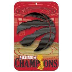 BASKETBALL -  AFFICHE - TORONTO RAPTORS CHAMPIONS (56 CM X 86.5 CM) -  RAPTORS DE TORONTO