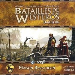 BATAILLES DE WESTEROS -  MAISON BARATHÉON - EXTENSION D'ARMÉE (FRANÇAIS)