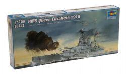 BATEAU -  HMS QUEEN ELIZABETH 1918 1/700 (DIFFICILE)