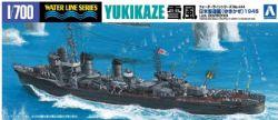 BATEAU -  I.J.N. DESTROYER YUKIKAZE (1945) 1/700 (DIFFICILE)