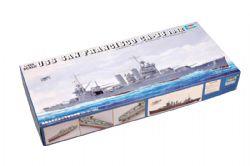 BATEAU -  USS SAN FRANCISCO CA-38 1942 1/350 (DIFFICILE)