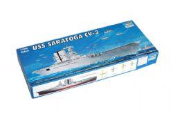 BATEAU -  USS SARATOGA CV-3 1/700 (DIFFICILE)