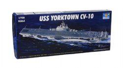 BATEAU -  USS YORKTOWN CV-10 1/700 (DIFFICILE)