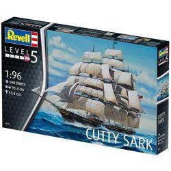BATEAUX A VOILES -  CUTTY SARK 1/96 (NIVEAU 5 - TRÈS DIFFICILE)