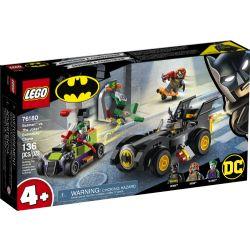 BATMAN -  BATMAN CONTRE LE JOKER : COURSE-POURSUITE EN BATMOBILE (136 PIÈCES) -  DC SUPER HEROES 76180