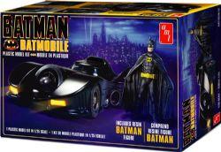 BATMAN -  BATMOBILE FIGURINE DE BATMAN 1/25 (NIVEAU 2 - MOYEN)