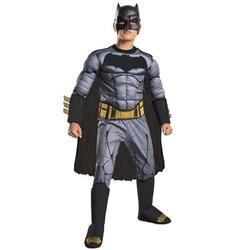 BATMAN -  COSTUME DE BATMAN - NOIR ET GRIS - TORSE MUSCLE (ENFANT) -  BATMAN VS SUPERMAN