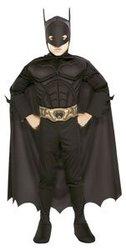 BATMAN -  COSTUME DE BATMAN - TORSE MUSCLE (ENFANT)