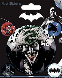 BATMAN -  ENSEMBLE DE 5 STICKERS VINYL