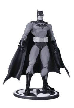 BATMAN -  FIGURINE ARTICULÉE NOIR ET BLANC (15.2CM) -  HUSH BY JIM LEE