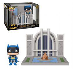 BATMAN -  FIGURINE POP! EN VINYLE DE BATMAN AVEC LE HALL OF JUSTICE (10 CM) 09